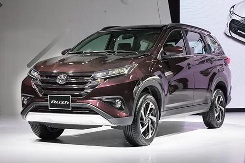 Toyota Rush trong lần ra mắt tại Hà Nội, tháng 9/2018.