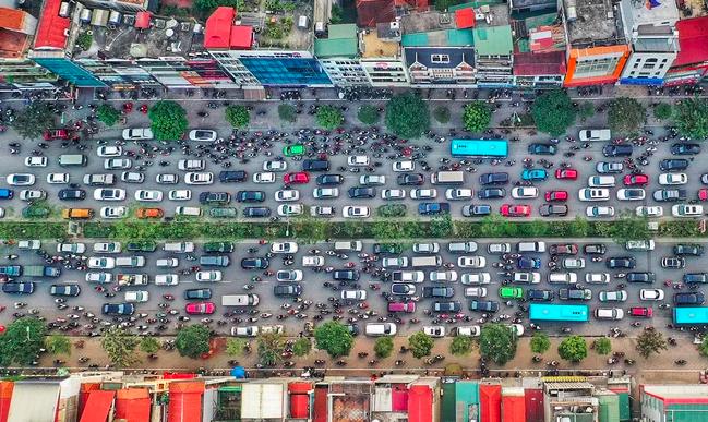 Hà Nội lên kế hoạch thu phí phương tiện vào nội đô