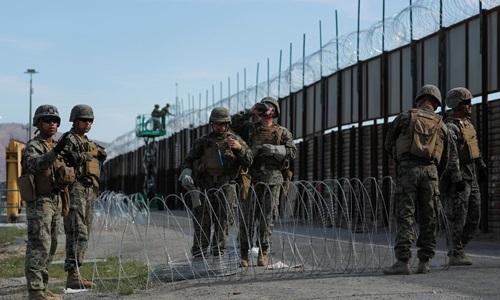 16 lính Mỹ bị bắt vì đưa người vượt biên trái phép - ảnh 1
