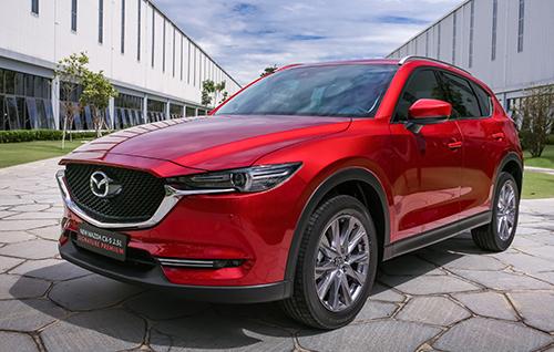 Mazda CX-5 mới ra mắt tại Chu Lai.