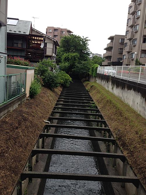 Sông Yato chảy qua thành phố Tokyo (rất giống sông Tô Lịch của Hà Nội).