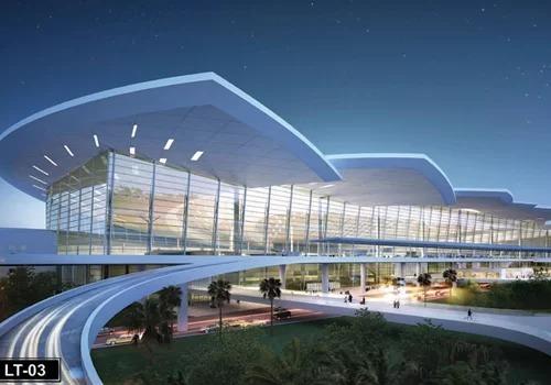 Phối cảnh thiết kế sân bay Long Thành.