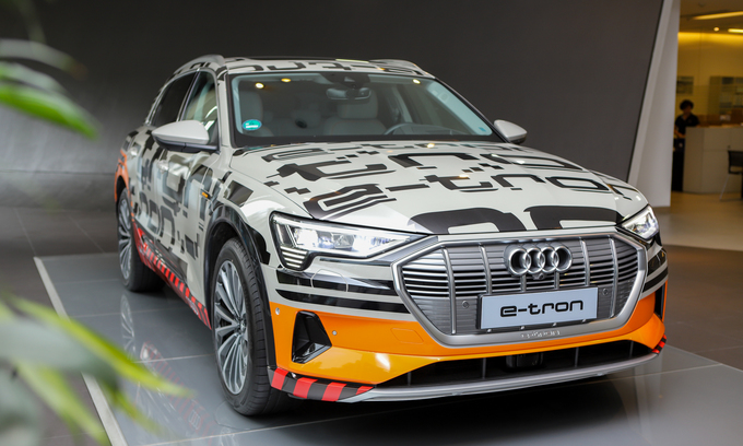 Audi e-tron - ôtô điện hạng sang tại Hà Nội