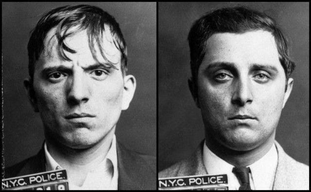 Kriesberg và Murphy - hai kẻ trong băng nhóm ủ mưu giết người.