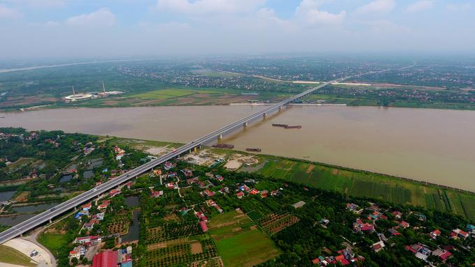 Cây cầu 2.800 tỷ đồng nối 2 tỉnh Hưng Yên và Hà Nam