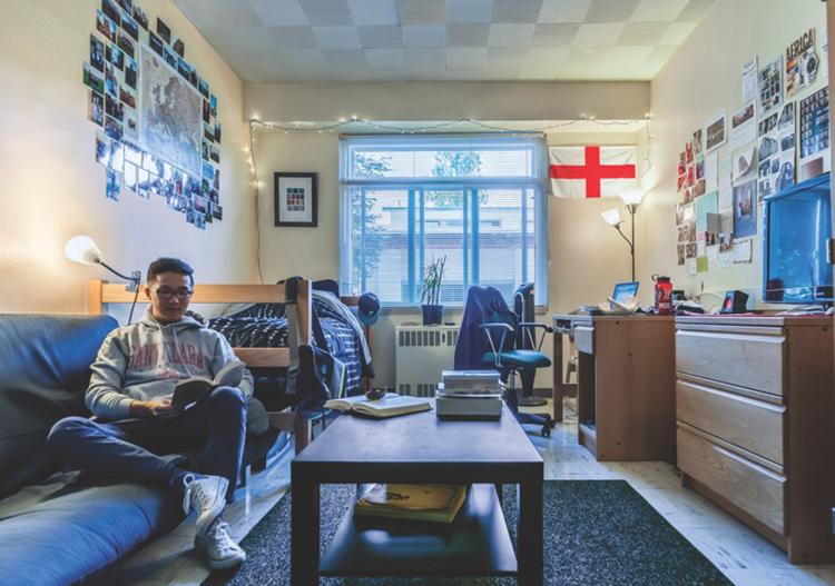 Một phòng ký túc xá củaĐại học Santa Clara.Ảnh: Santa Clara University.
