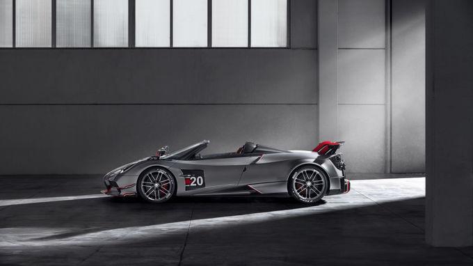 Pagani Huayra Roadster BC - siêu phẩm mui trần giá 3,4 triệu USD
