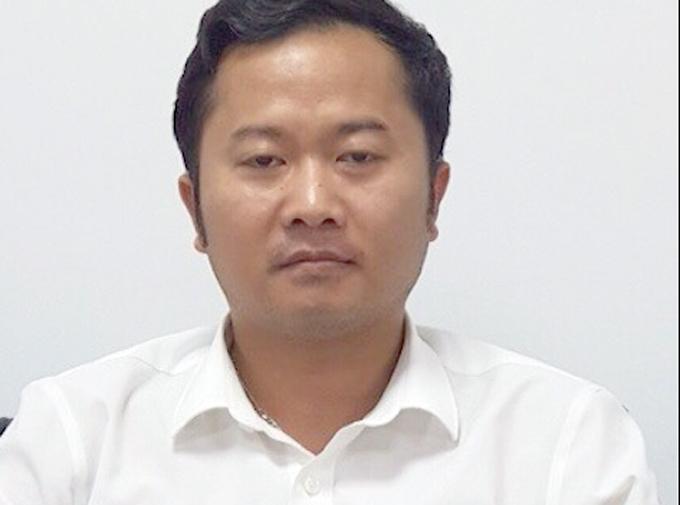 Dương Văn Hoà, hiệu trưởng trường Đại học Đông Đô. Ảnh: Bộ Công an