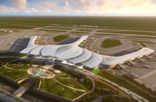 Phối cảnh sân bay Long Thành. Ảnh:ACV
