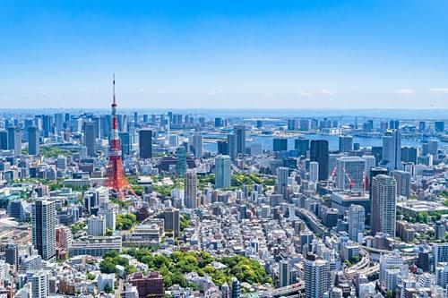 Một góc thành phố Tokyo (Nhật Bản). Ảnh: Zekkei Japan