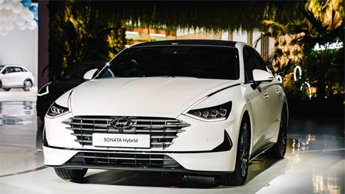 Hyundai Sonata hybrid 2020.