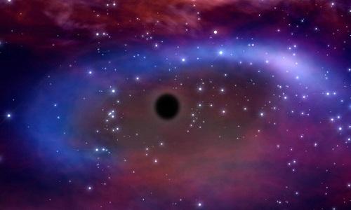 Holm 15A* là một trong những hố đen lớn nhất vũ trụ. Ảnh: France24.