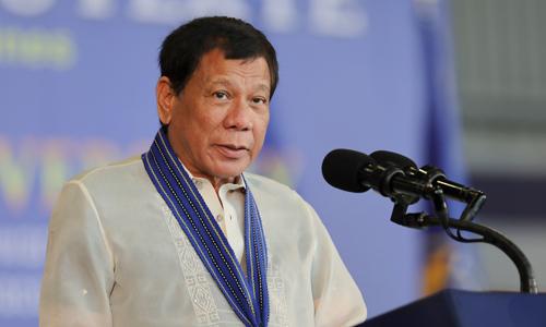 Duterte se khong cho My trien khai ten lua tren lanh tho