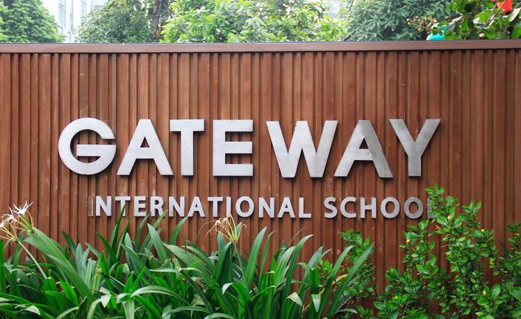 Trường Geteway, cơ sở trên phố Khúc Thừa Dụ (Cầu Giấy, Hà Nội). Ảnh: Phạm Dự