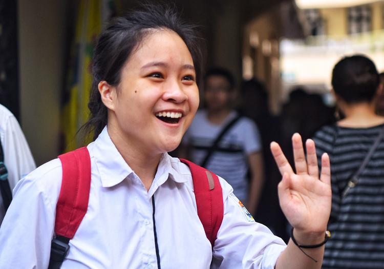 Thí sinh Hà Nội tham dự kỳ thi THPT quốc gia 2019. Ảnh: Giang Huy