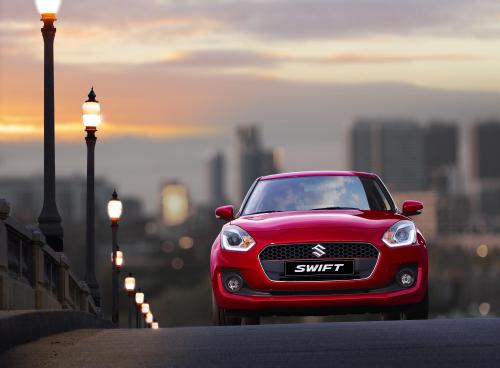 Suzuki Swift mang vẻ ngoài hiện đại, đậm nét châu Âu.