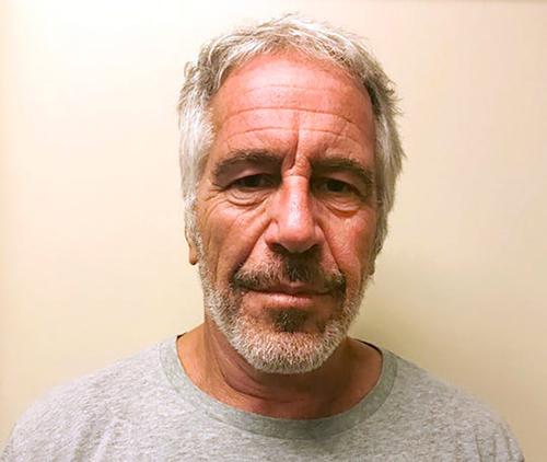 Tỷ phú Jeffrey Epstein. Ảnh: AP