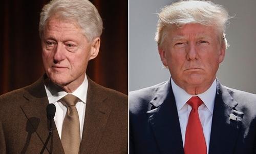 Trump chia se bai viet am chi Bill Clinton lien quan cai chet cua ty phu au dam