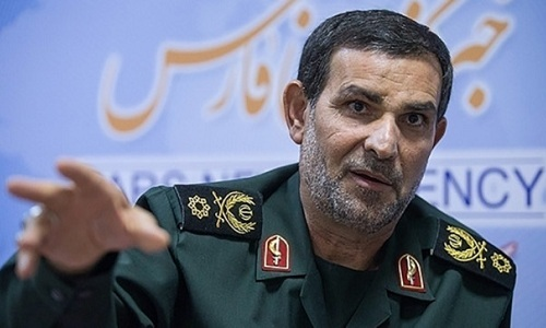 Tư lệnh hải quân Iran Alireza Tangsiri. Ảnh: Press TV.
