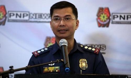 Phát ngôn viên lực lượng Cảnh sát Quốc gia Philippines Bernard Banac. Ảnh: PNA.