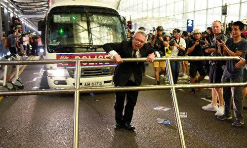 Đêm bạo loạn ở sân bay Hong Kong - 2