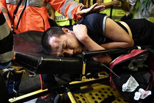 Đêm bạo loạn ở sân bay Hong Kong - 1
