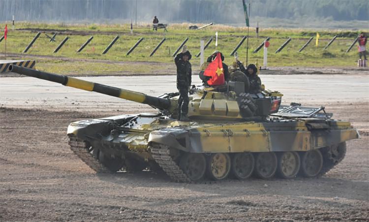 5 ngày đội tuyển xe tăng Việt Nam thi đấu trên đất Nga -