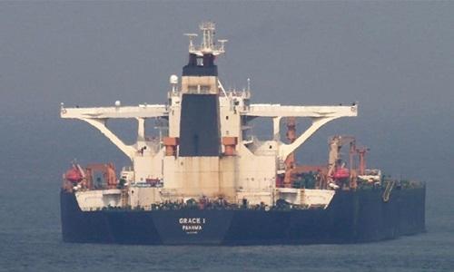 Siêu tàu dầu Iran có thể được thả hôm nay - ảnh 1