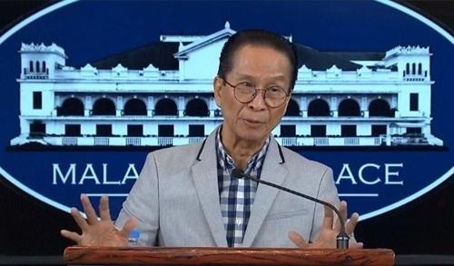 Người phát ngôn Phủ tổng thống Philippines Salvador Panelo. Ảnh: Philstar.