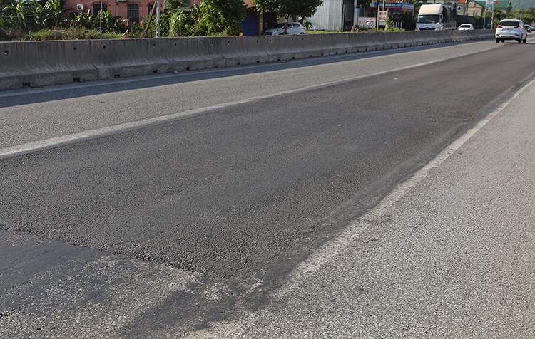 Quốc lộ 1A ở Nghệ An bị hằn lún kéo dài - ảnh 3