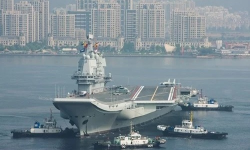 Tàu sân bay Type-001A của Trung Quốc. Ảnh: ImagineChina.