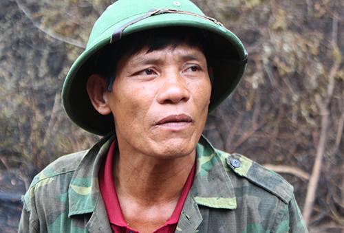 Người mở hàng nghìn mét đường băng cản lửa ở Hà Tĩnh...
