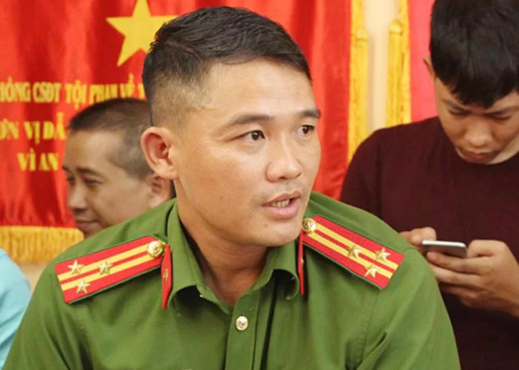 Thượng tá Nguyễn Đăng Nam. Ảnh: Sơn Hoà.