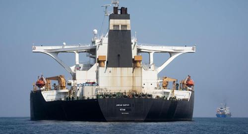 Iran cảnh báo hậu quả nghiêm trọng nếu Mỹ bắt siêu tàu dầu - ảnh 1