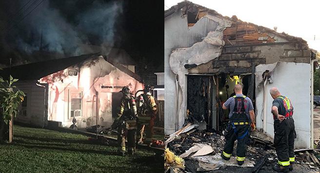 Cô gái Mỹ đốt nhà bạn trai vì quên hẹn - ảnh 1