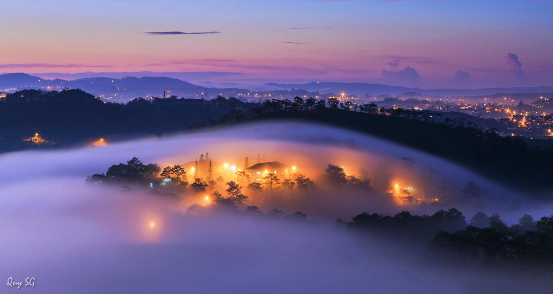 Đà Lạt trong sương mù