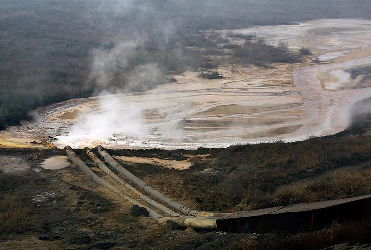 Một mỏ khai thác đất hiếm. Ảnh:Reuters
