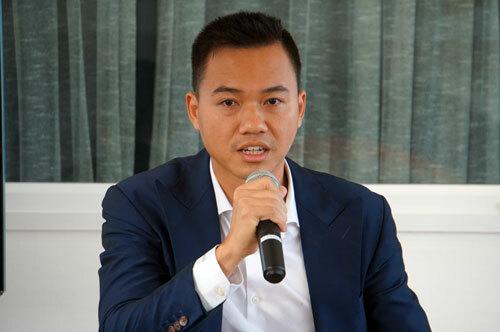 Ông Lê Thanh, Giám đốc Công ty TNHH Veritas Shoes Việt Nam. Ảnh: Mạnh Tùng.
