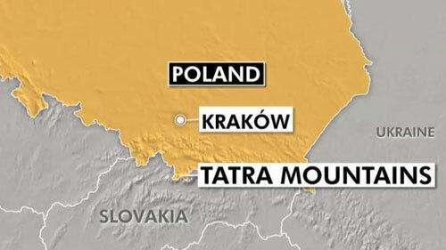Sét đánh chết 5 người ở Ba Lan