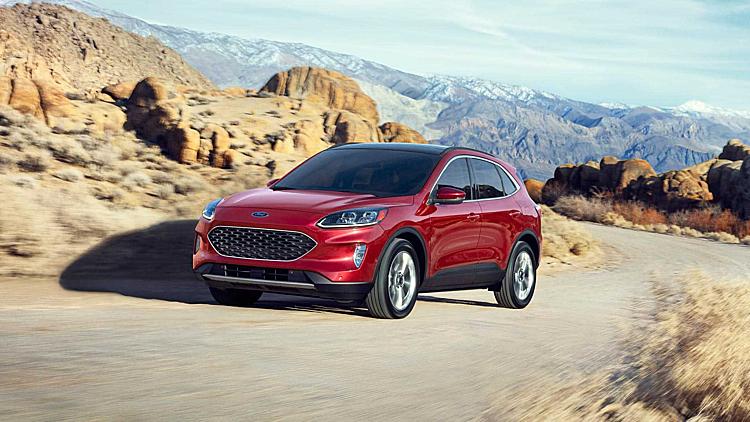 Ford Escape 2020 giá từ 25.980 USD tại Mỹ. Ảnh: Ford