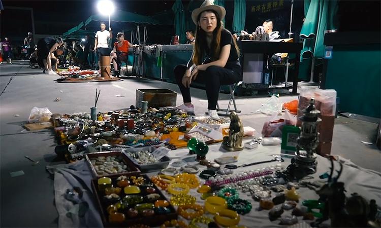 Chợ trời ban đêm cuối cùng còn sót lại ở Bắc Kinh -