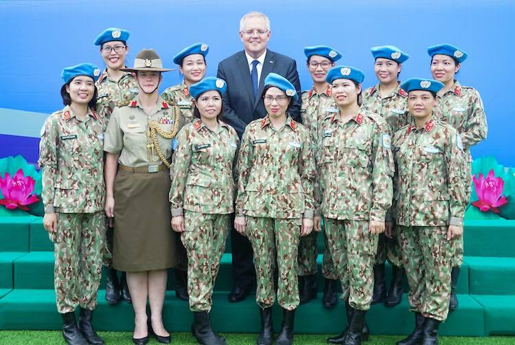 Australia giúp chở bệnh viện dã chiến Việt Nam đến Nam Sudan - ảnh 2