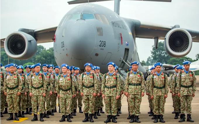 Australia giúp chở bệnh viện dã chiến Việt Nam đến Nam Sudan - ảnh 1