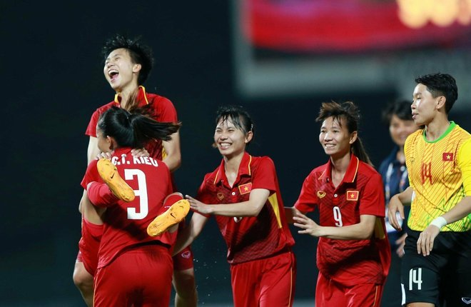 Nữ Việt Nam 2-1 Nữ Philippines - VnExpress
