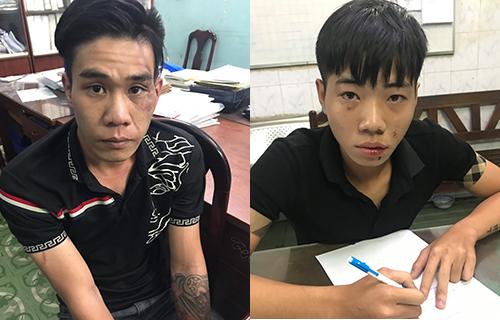 Cảnh sát đặc nhiệm quật ngã hai tên cướp - ảnh 1