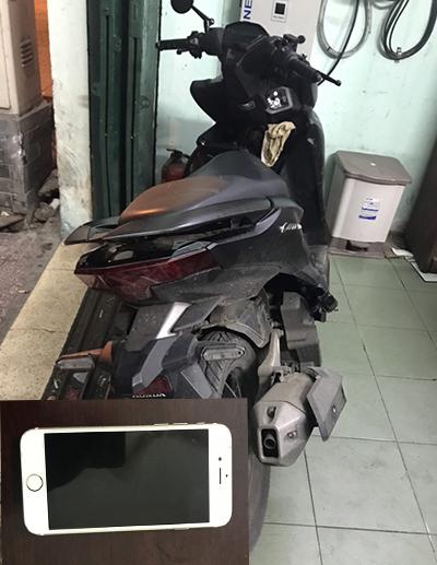 Cảnh sát đặc nhiệm quật ngã hai tên cướp - ảnh 2