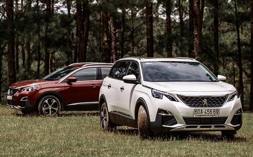 Peugeot 3008 và 5008.