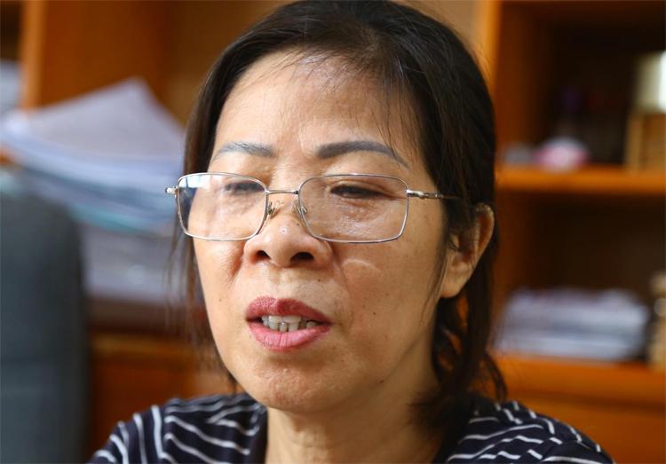Bà Nguyễn Bích Quy. Ảnh chụp ngày 22/8: Phạm Dự.