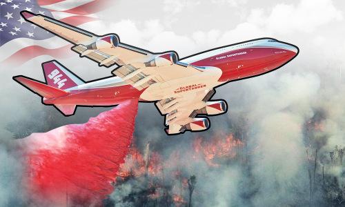 Tính năng máy bay 747 SuperTanker. Bấm vào Ảnh để xem đầy đủ.