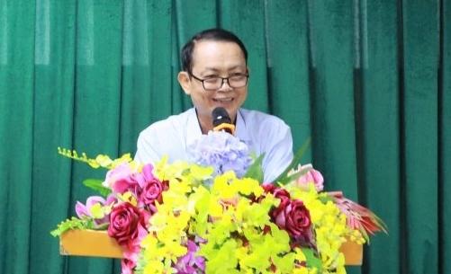 PGS TS Lê Ngọc Tòng phát biểu ngày 27/8. Ảnh: Đại học Đông Đô